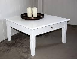 Couchtisch Weiß Holz Schublade