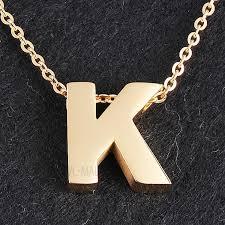 titanium steel pendant necklace gold
