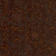 western fl tooled faux leather