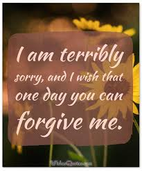 ways to say you re sorry sweet apology text messages