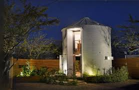 tiny home that s made out of a grain silo