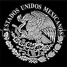 Estados Unidos Mexicanos Decal Mexican Eagle Aguila De Mexico Flag Bandera Ebay