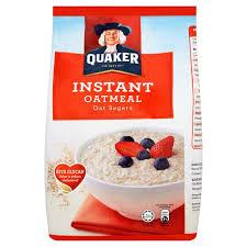 quaker instant oatmeal 800g mydin