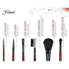 filone makeup brush set eye lip