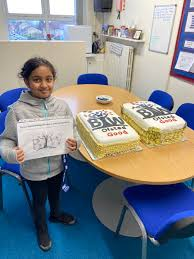 """Byron Wood Academy on Twitter: """"What better way to celebrate our ofsted  result with our school community than with cake. Congratulations to Manahil  who won the competition. Yummy... @astreaacademies @Benedick1 @MatWright5…  https://t.co/vApFZ3kqhP"""""""