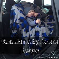 canadian baby poncho
