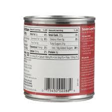 33 sweetened condensed milk nutrition