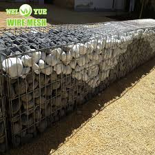 China Wire Cages Rock Retaining Wall Gabion Baskets Gabion Mesh China Building Material Galvanized
