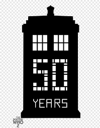 Doctor Tardis Dalek Wall Decal Television Show 50th Anniversary Png Pngwave