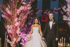 صور حفل زفاف ريناد ونزار في القاهرة وتفاصيل الفرح موقع العروس