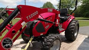 tym tractors t264 demo gone new
