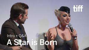 A STAR IS BORN Cast and Crew Q&A | TIFF 2018 | A star is born, Bradley  cooper, Musician