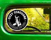 Black Sabbath Vinyl Decal Sticker Record Ozzy Osbourne Paranoid Laptop Car 4x4