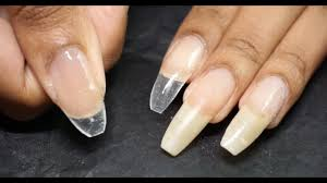 silk wraps on natural and fake nails