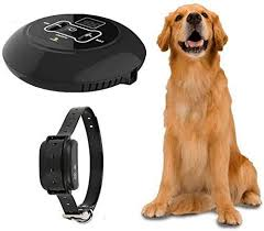 Amazon Com Jingchen Wireless Dog Fence Pet Containment System Rechargeable And Waterproof Shock Collar Electric Pet Fence For Stubborn Dogs Large Coverage Area Up To 5 Acres 100 Safe Jingchen Pet Supplies
