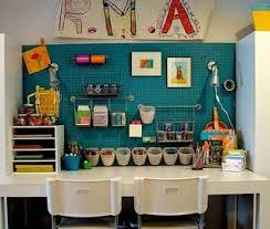 The Vintage Glitter House Kids Art Studio Craft Room Craft Room Organization
