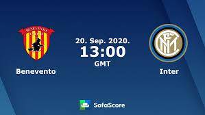Benevento Inter live score, video stream and H2H results - SofaScore
