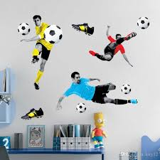 Football Wall Stickers In Decors