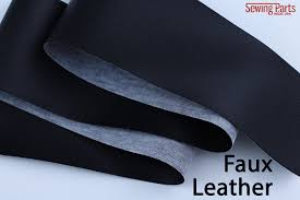 how to sew vinyl faux leather and