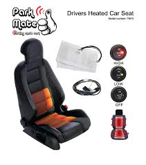 heated car seat pad kit park mate pm10