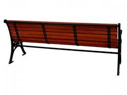 cast iron wood bench garden furniture