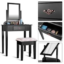 costway makeup desk vanity dressing