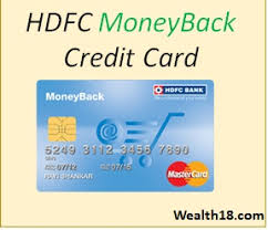 hdfc bank moneyback credit card