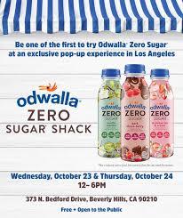 odwalla zero sugar shack in beverly