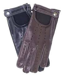 leather driving gloves mens s cashmere