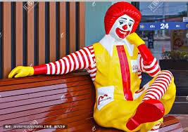 麦当劳小丑_麦当劳肯德基_麦当劳灯箱片-久久图片视频