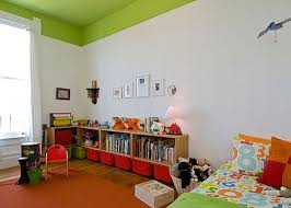 Creative Ideas For High Ceilings Painted Ceiling Colorful Kids Room Kids Room Design