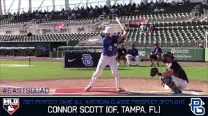 Marlins select OF Connor Scott with No. 13 pick in MLB draft - South  Florida Sun Sentinel - South Florida Sun-Sentinel