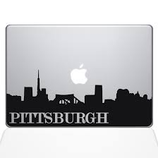 Pittsburgh Pennsylvania State Macbook Decal Laptop Computer Vinyl Sticker The Decal Guru