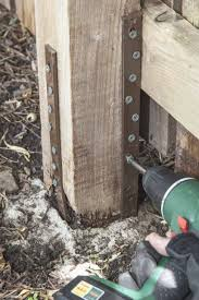 Fence Post Repair Quick Easy Affordable Post Buddy Uk In 2020 Fence Post Repair Cheap Fence Posts Diy Fence