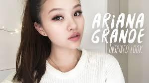 ariana grande inspired makeup look
