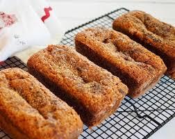 moist banana graham oat bread the