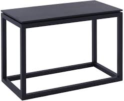 side table black wenge finish