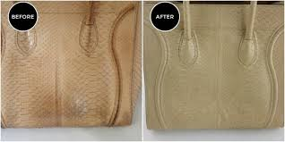 handbag cleaning stain removal by