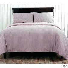 duvet cover plaid twin bedding sets