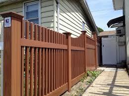 Wood Grain Vinyl Fences Gates Railings Liberty Fence Railing
