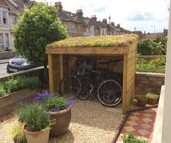 Green Roof Bike Sheds Shelters Bluum Stores