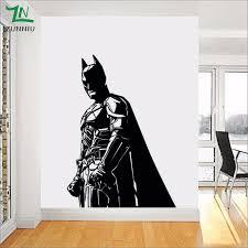 Discount Batman Wall Mural Decal Batman Wall Mural Decal 2020 On Sale At Dhgate Com