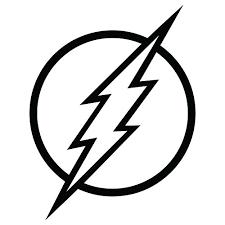 Flash Logo Vinyl Decal Sticker 4x5 Inch Buy Online In Saint Lucia At Desertcart
