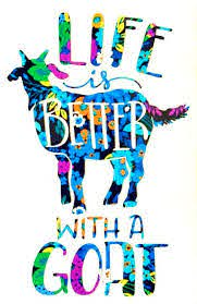 Life Is Better With A Goat Vinyl Decal Sticker Water Bottle Etsy