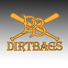 Dirtbag Baseball Window Decal Design It Apparel