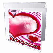 3dRose Buon San Valentino, Happy Valentines Day in Italian, Heart ...