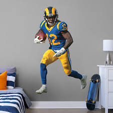 Brandin Cooks Los Angeles Rams Fathead 3 Pack Life Size Removable Wall Decal