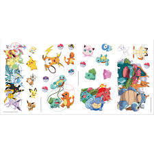 Room Mates Pokemon Favorite Character Peel And Stick Wall Decal Reviews Wayfair