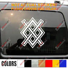Valhalla Valknut Decal Sticker Odin Viking Norse Car Vinyl Pick Size Color Buy At The Price Of 4 00 In Aliexpress Com Imall Com