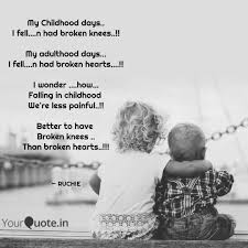 my childhood days i fe quotes writings by ruchie biyala